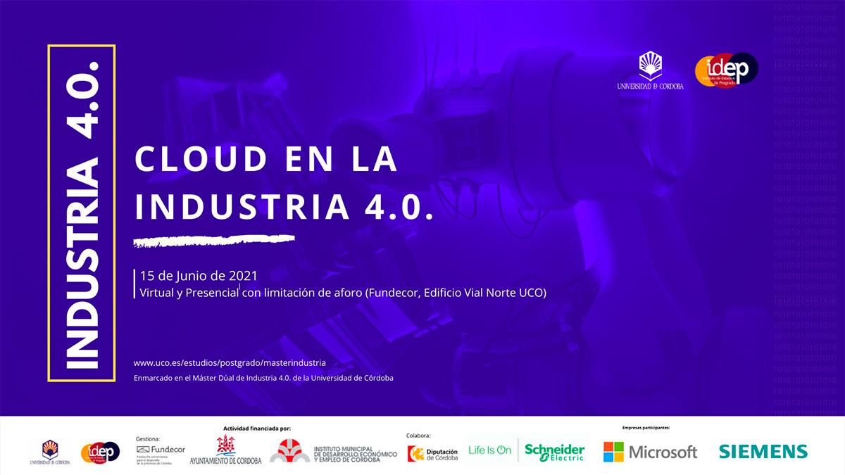 Jornadas Cloud en la Industria 4.0.