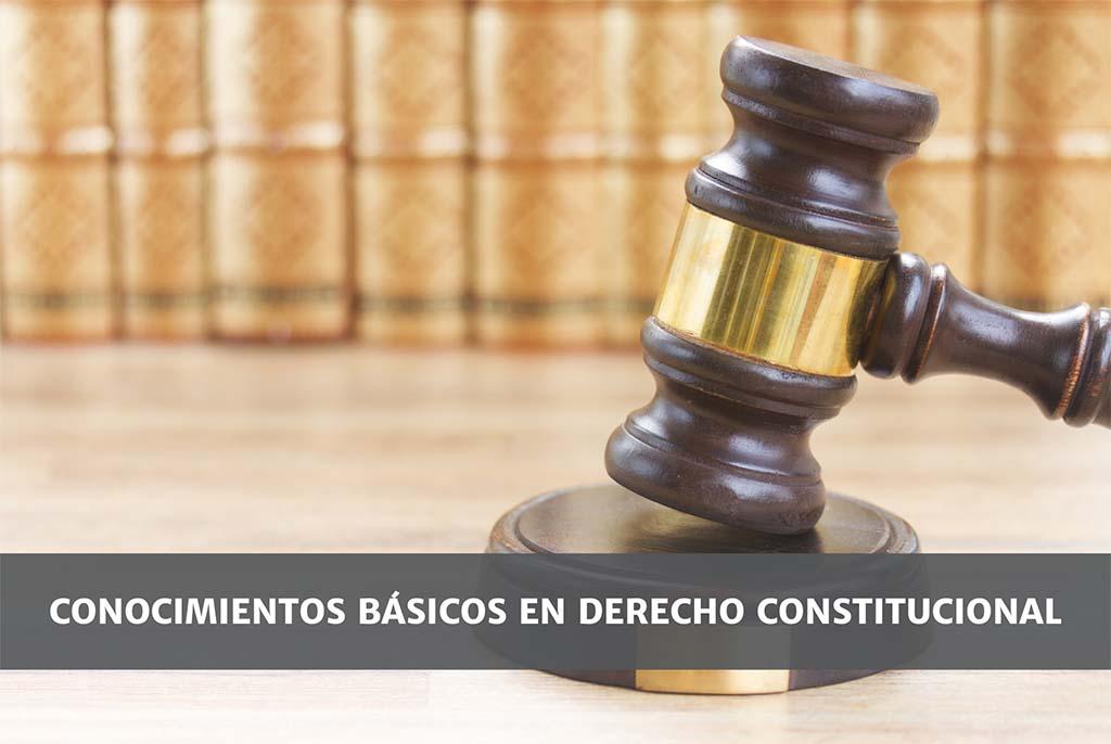 Conocimientos básicos en Derecho Constitucional