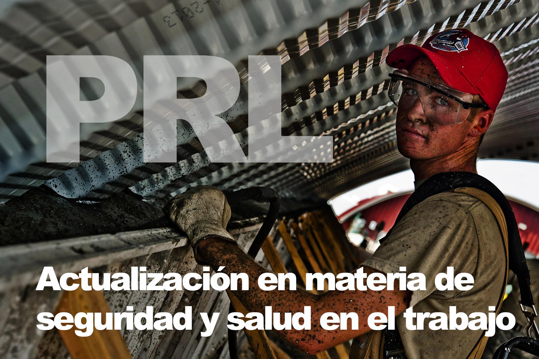 Prevención de Riesgos Laborales: actualización en materia de seguridad y salud en el trabajo