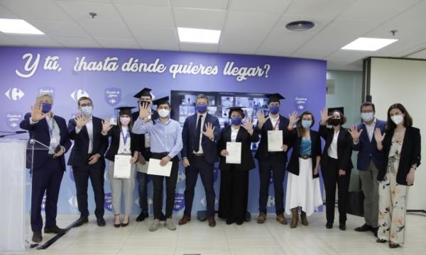181 alumnos culminan su formación en la II Escuela de Futuros Líderes de Carrefour, la UCO y Fundecor