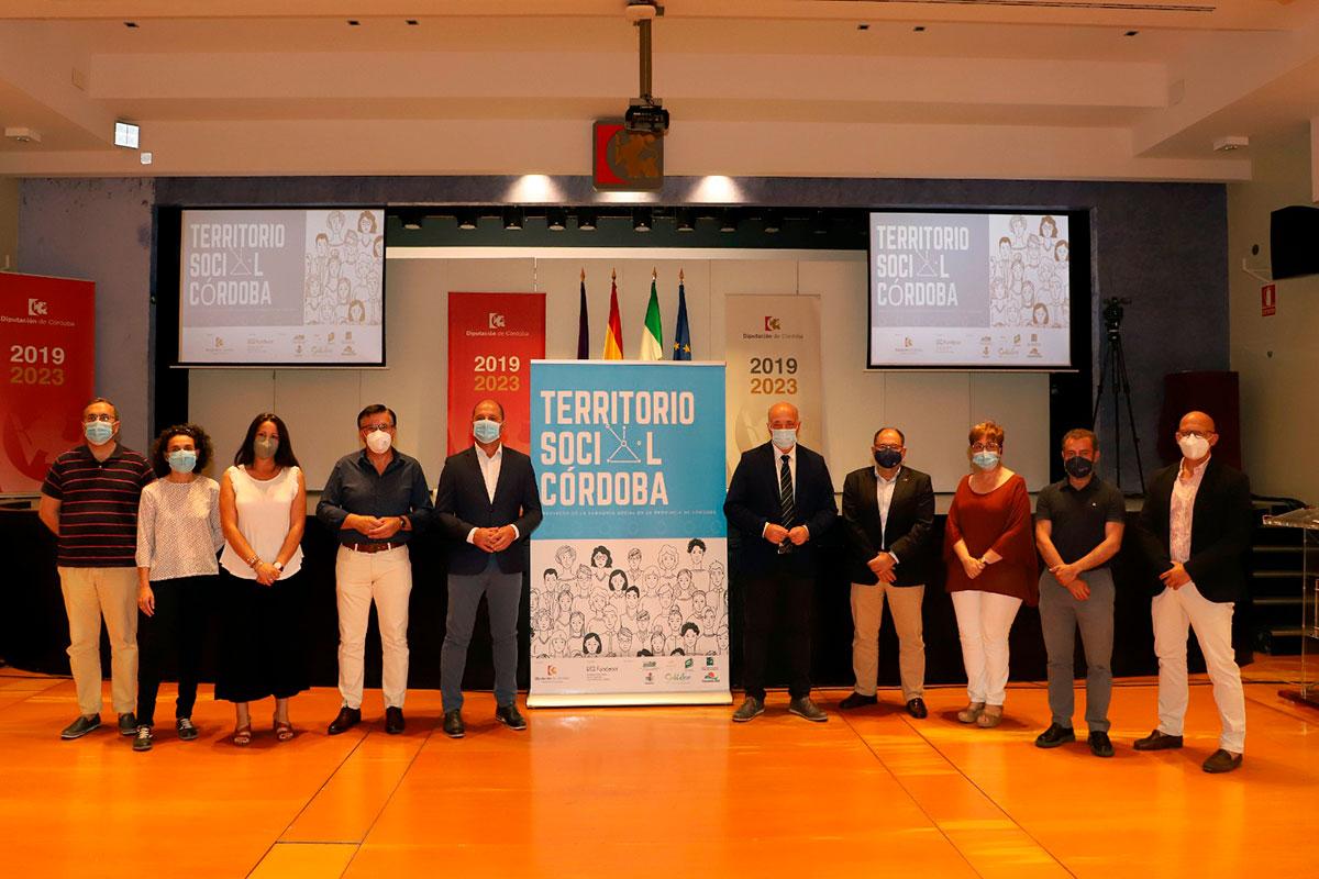 'Territorio social Córdoba' diagnostica la situación de empleo en los municipios