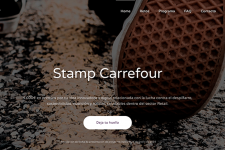 Stamp Carrefour